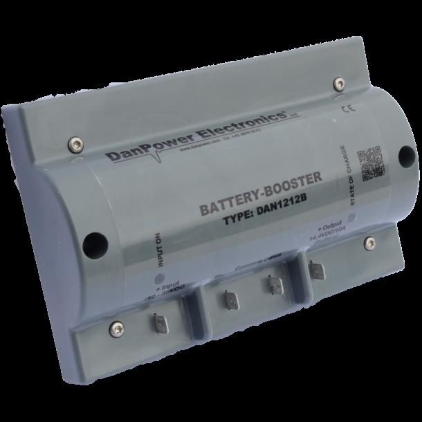 Battery-Booster & solcelle regulator DAN1212B (i rest ordre)